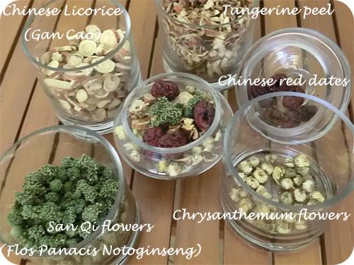 Harmonia herbal teas and supplements